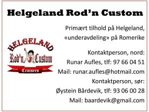 Helgeland Rod'n Custom
