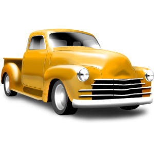 yellow-pickup-icon