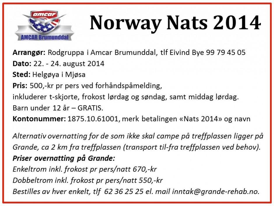 Norway Nats 2014, alt 2 m tlf