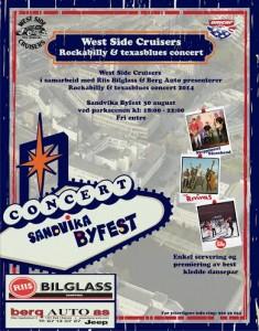 West Side Cruisers.jpg konsert